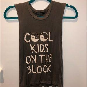 Brandy Melville Cool Kids on the Block Tank☯️